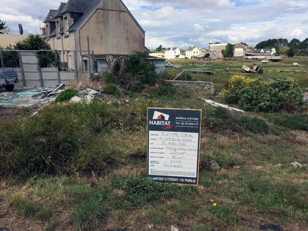 Maison en construction - Lechiagat