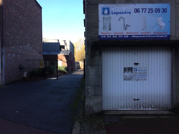 Le Canon d'or : le garage du plombier