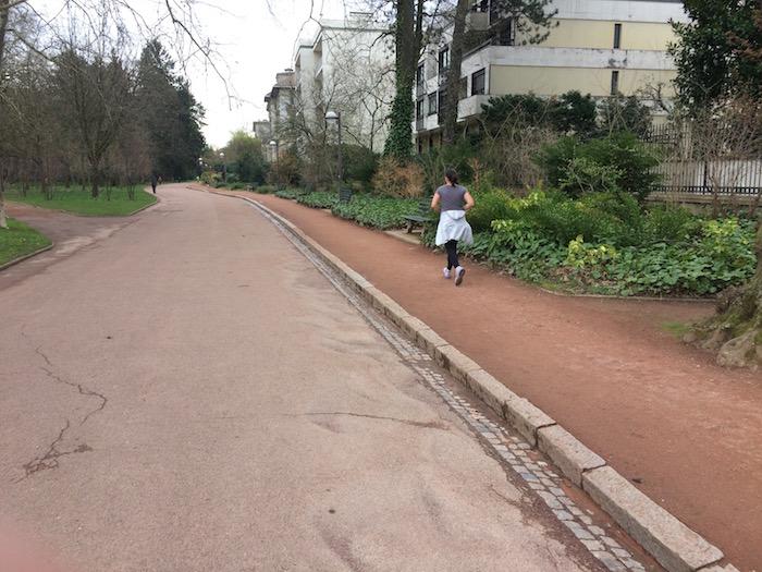 Chemins, parc de la Tête d'Or, Lyon, 2018