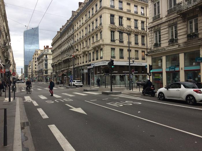 Rue apaisée, Lyon, 2018