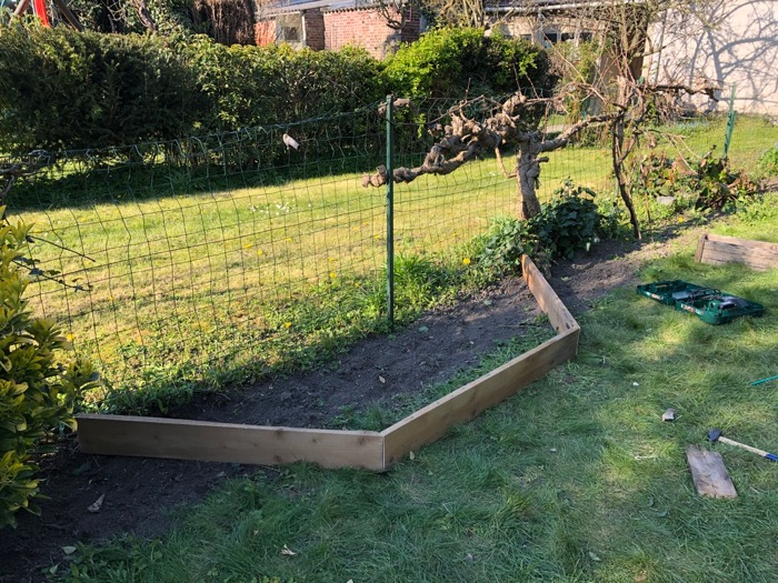 Aménagement au jardin