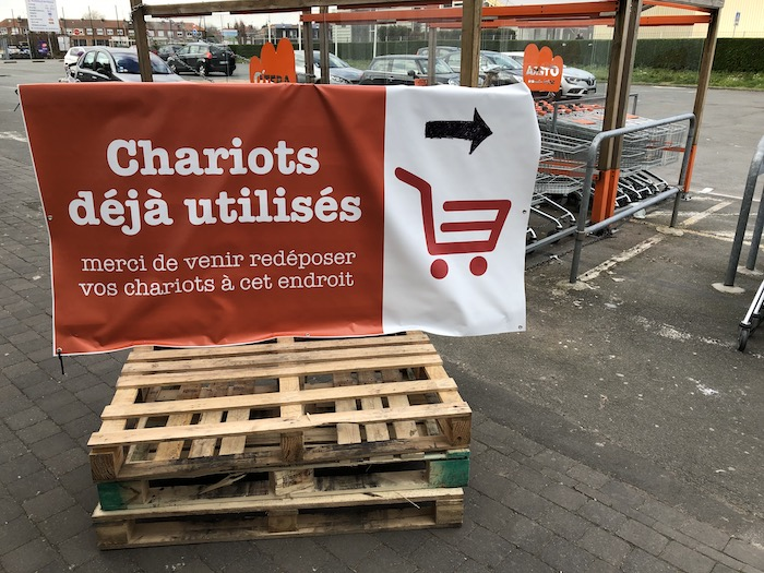 Chariots déjà utilisés - O'tera
