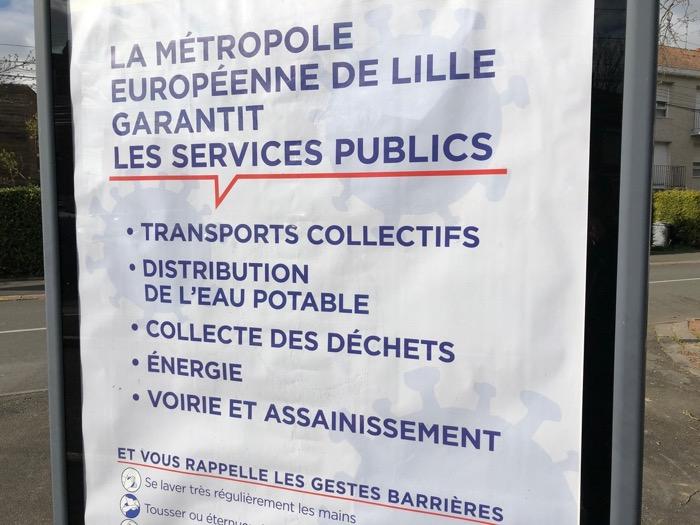 Les garanties de service public de la MEL