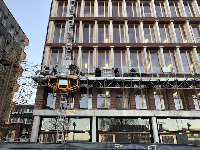 Immeuble en brique - Lille
