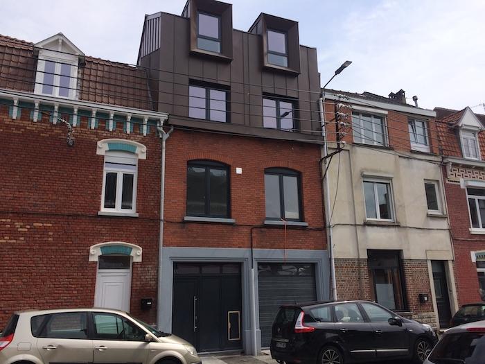 Extension par devant - Lambersart