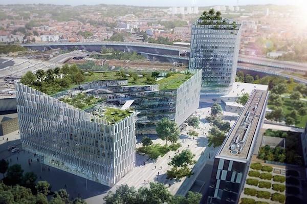 Le projet de bâtiment pour l'AEM dans le dossier lillois