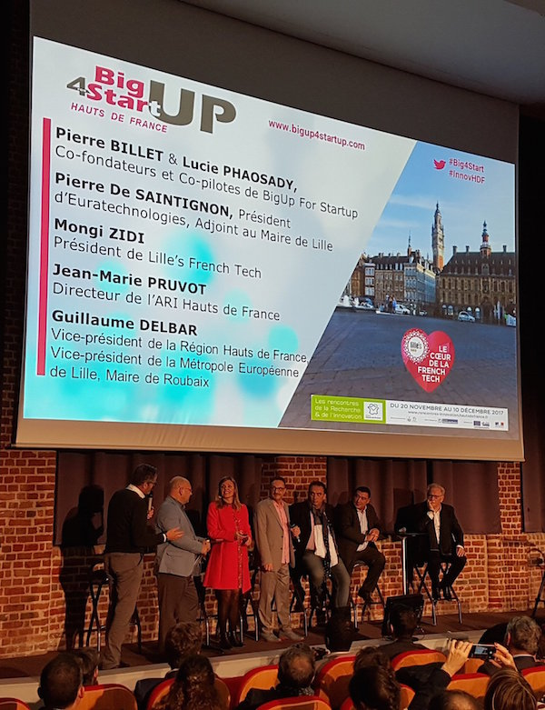 Big Up for Startup à Lille - novembre 2017