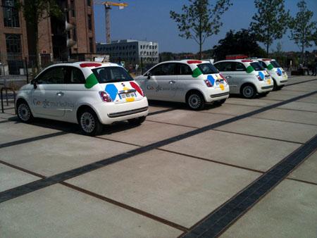 Google cars à Lille