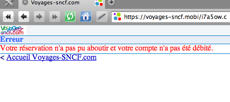 refus de la SNCF